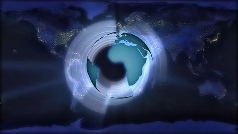 global lights Stock Video Footage