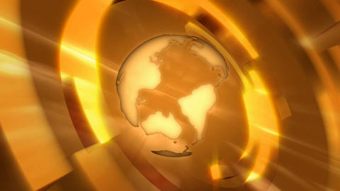 orange globe Stock Video Footage