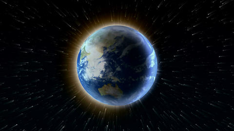 earth in space Stock Video Footage
