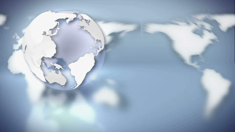 earth map contrast Stock Video Footage