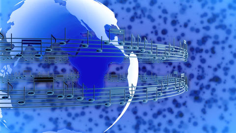global music 2 Stock Video Footage
