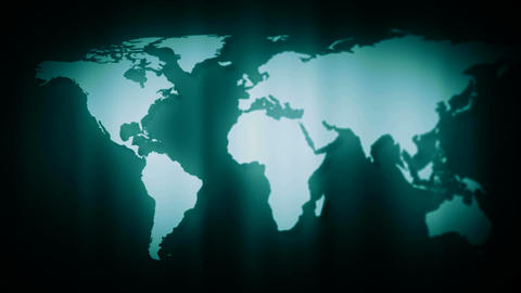 map out of focus Stock Video Footage
