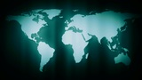 Map Out Of Focus Ntsc stock footage