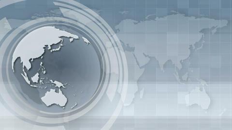 vector globe Stock Video Footage