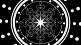 Gobo Mandala 1 stock footage