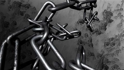 chain crash Animation