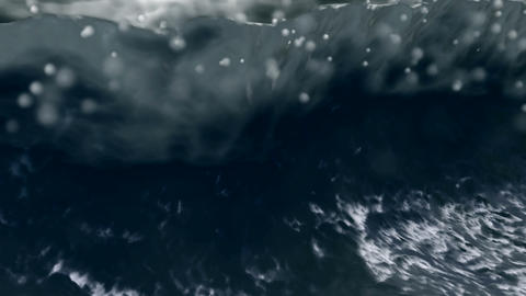 dark storm Stock Video Footage
