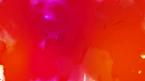 liquid colour growth Stock Video Footage