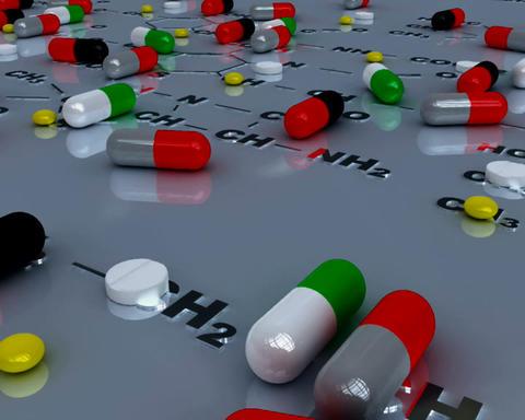 pills 2 Stock Video Footage