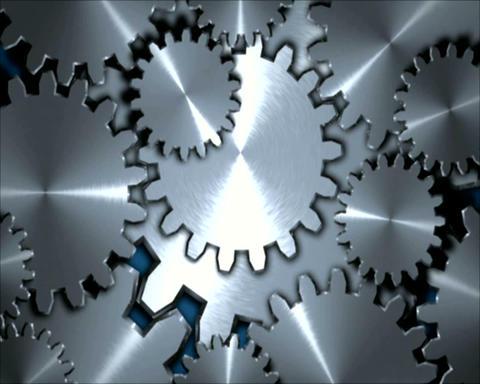 metal gears Stock Video Footage