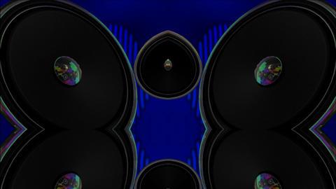 speaker mirror Stock Video Footage