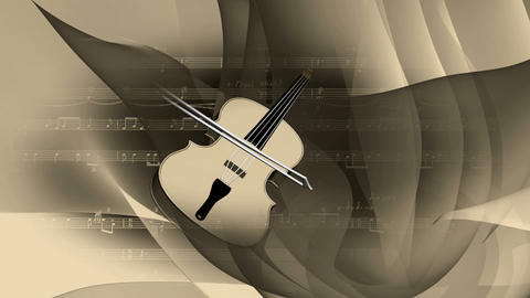 violin 3 Stock Video Footage
