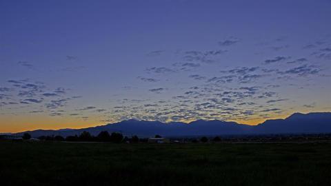 pasture sunrise Stock Video Footage