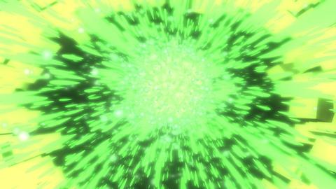 green burst Stock Video Footage