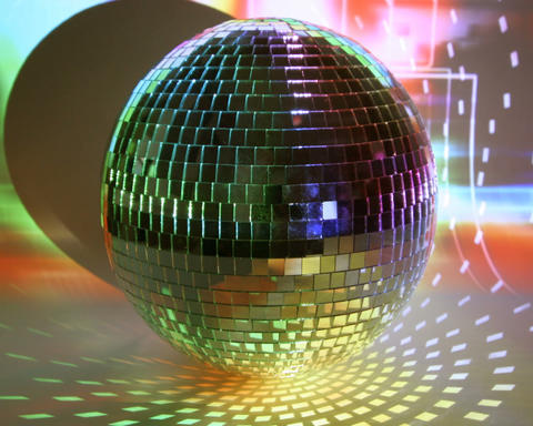 glitterball multi Stock Video Footage
