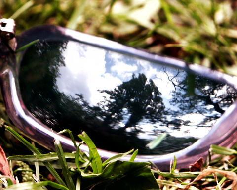 sunglass frame Stock Video Footage