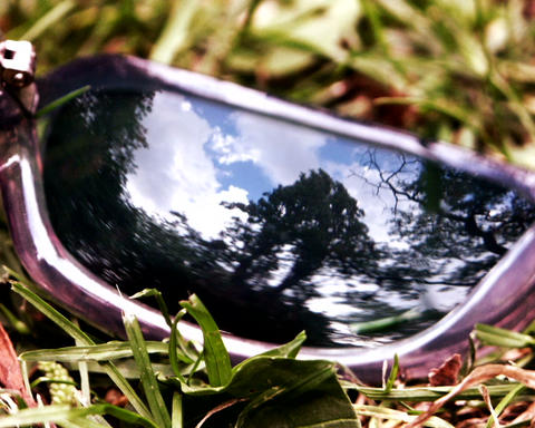 sunglass frame Stock Video Footage
