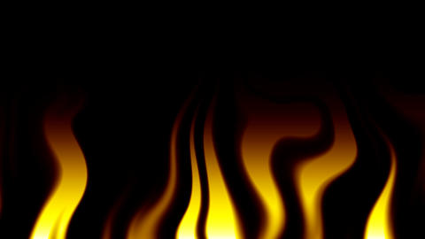 abstract flames 1 Stock Video Footage