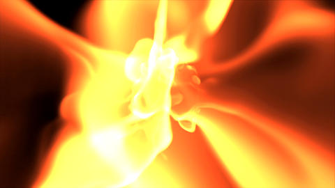 fire from above Stock Video Footage