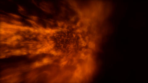 fire tunnel twist Stock Video Footage