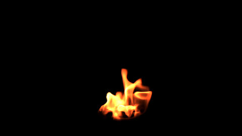 flame element 1 Stock Video Footage