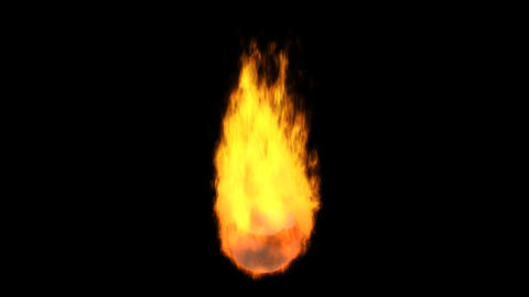 flame element 3 Stock Video Footage