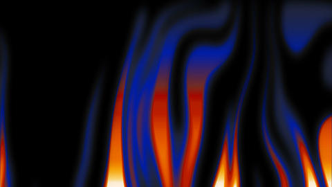 abstract flames 2 Stock Video Footage