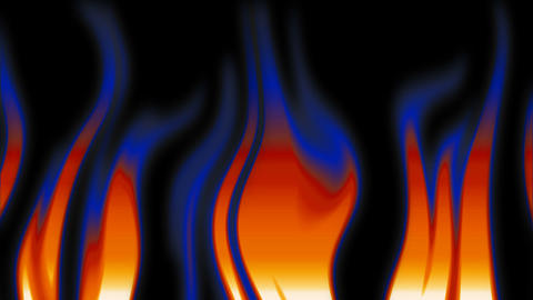 abstract flames 2 Animation