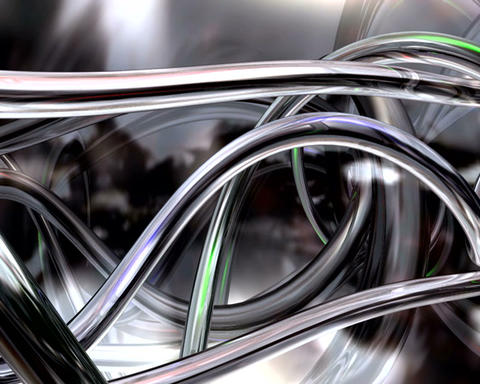 tubular chrome Stock Video Footage