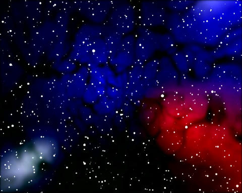 galactic noise Stock Video Footage