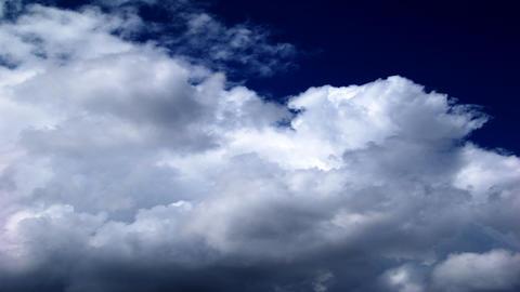 dark blue sky Stock Video Footage