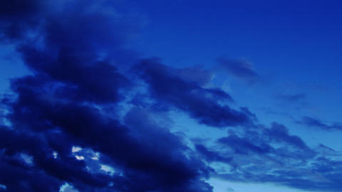 alpine sky Stock Video Footage