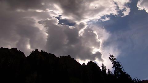 offangle sunshot Stock Video Footage