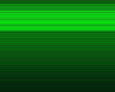 green scan lines Stock Video Footage