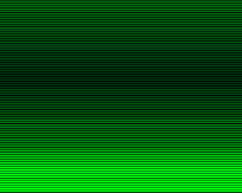 green scan lines Animation