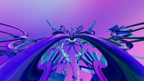 complex build Animation