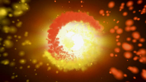 ying fire yang Stock Video Footage