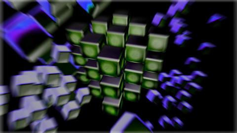 block zoom Stock Video Footage