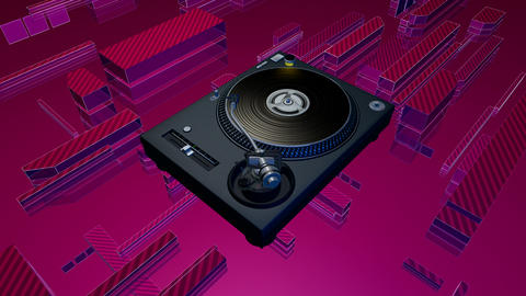 turntable static Stock Video Footage