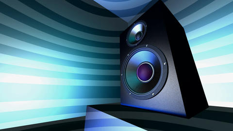 speaker box Stock Video Footage