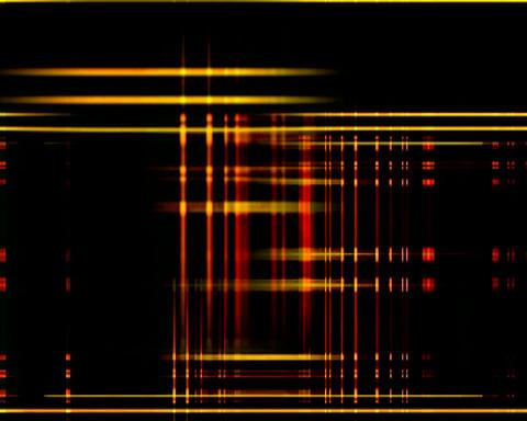 crossing grid 3 Stock Video Footage