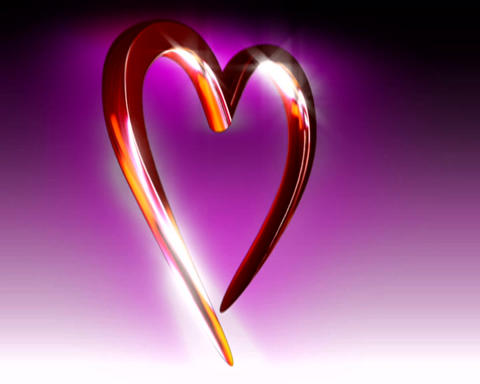 3d heart Stock Video Footage