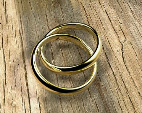 simple rings 1 Stock Video Footage