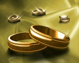 Gold Bands stock footage