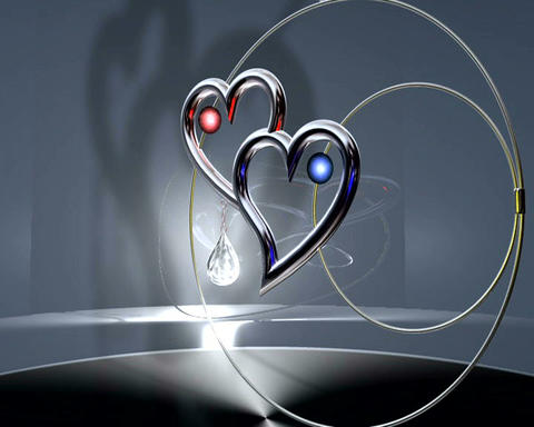 jeweled hearts Animation