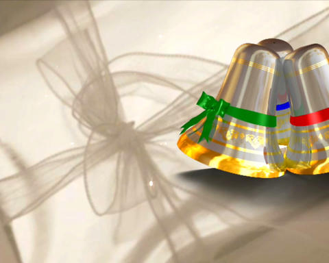 wedding bells 5 Stock Video Footage