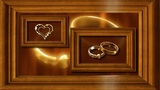 Wedding Frame Ntsc stock footage