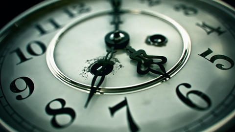 Clock Face / Clockface - 3D Animation lizenzfreie Videos