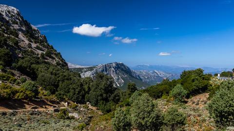 Gorroppu Canyon, Timelapse, Sardinia stock footage