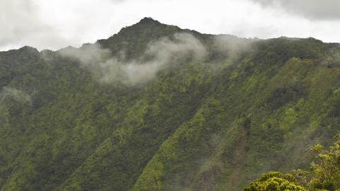 Clouds Timelapse, Waimea Canyon, Kauai, Hawaii Filmmaterial